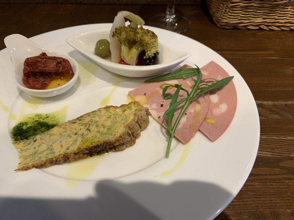 TAPPA 目白のイタリアン ランチ 前菜