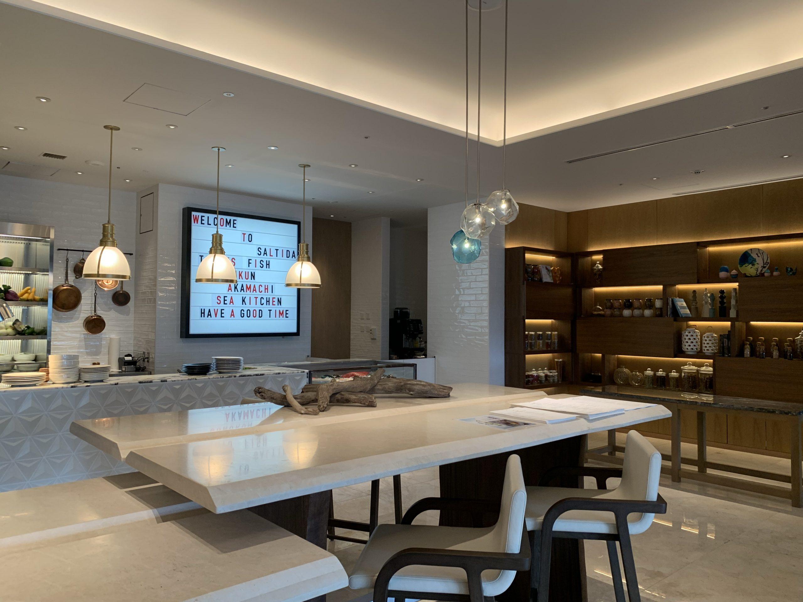 SALTIDAオープンキッチン